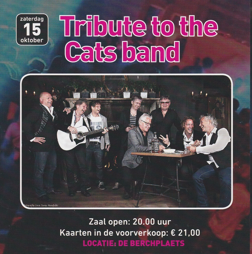 Tribute to theCats band151016