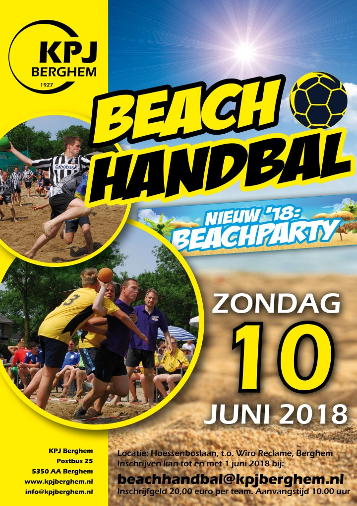 Beachhandbal 2018