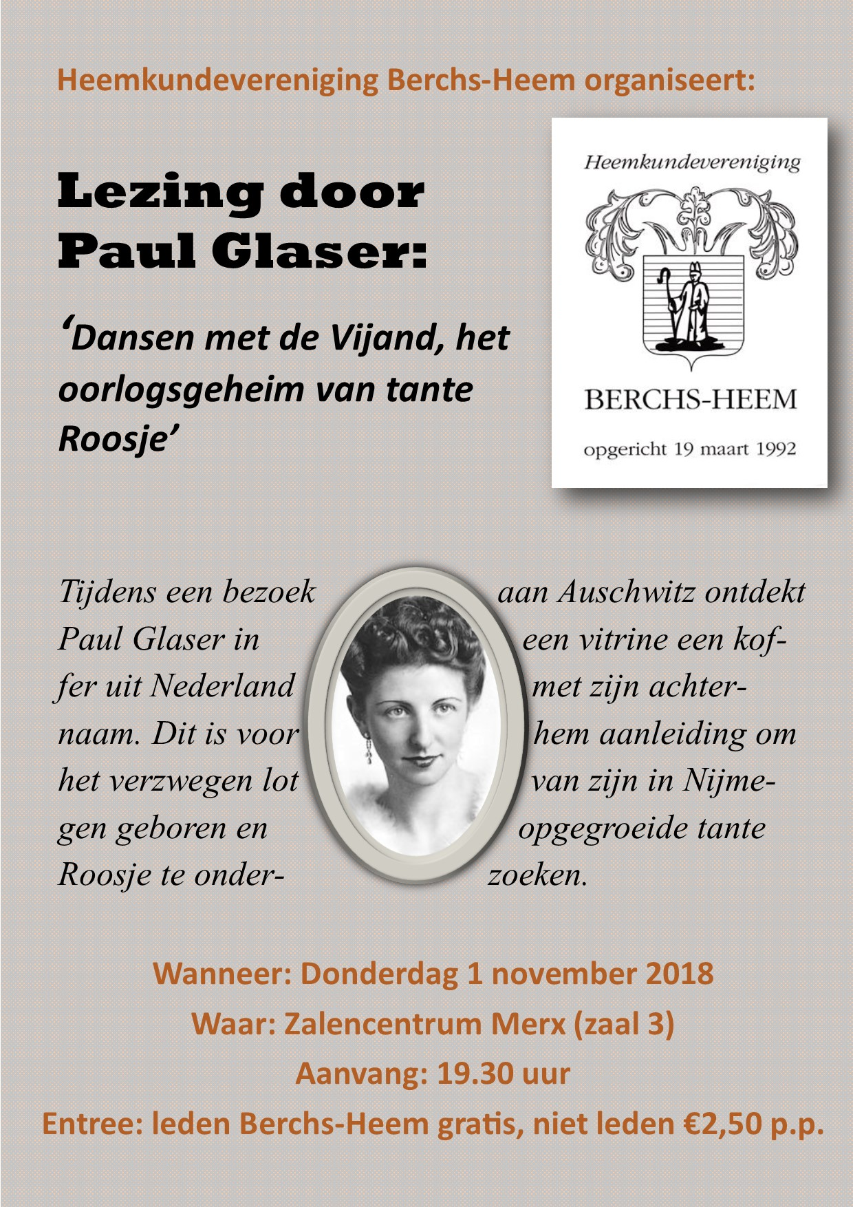 Lezing Paul Glaser