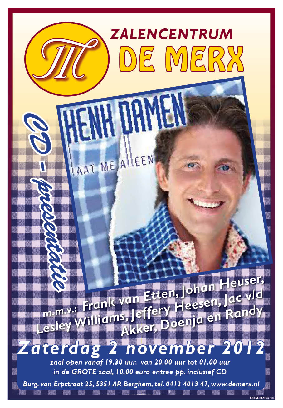 CD henk damen 2012